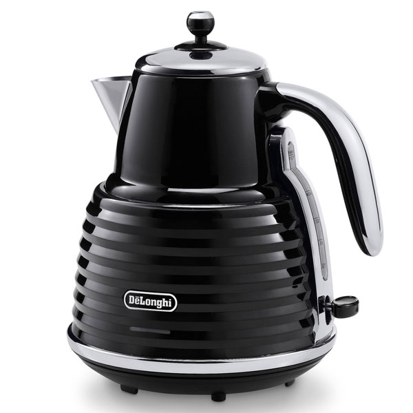 DeLonghi Scultura Kettle  Carbon Black