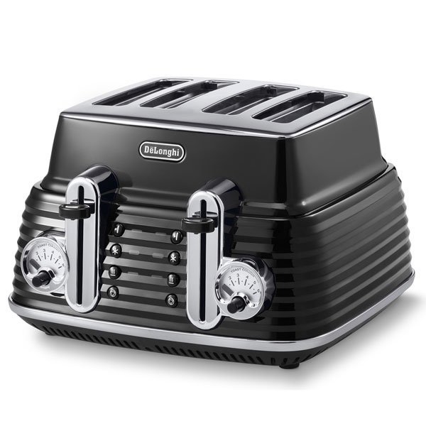DeLonghi Scultura Toaster  Carbon Black