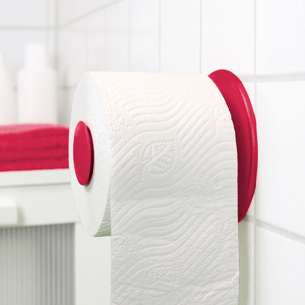 Koziol Plug n Roll Toilet Paper Holder - 18th gift