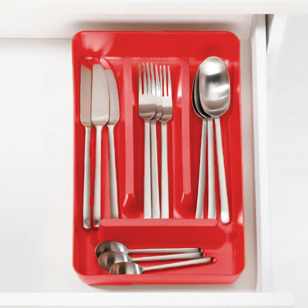 Koziol Rio Red Cutlery Tray