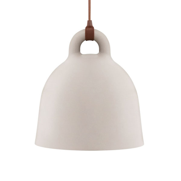 Normann Copenhagen Bell Lamp Medium  Sand