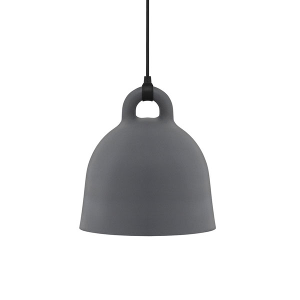 Normann Copenhagen Bell Lamp X Small  Grey