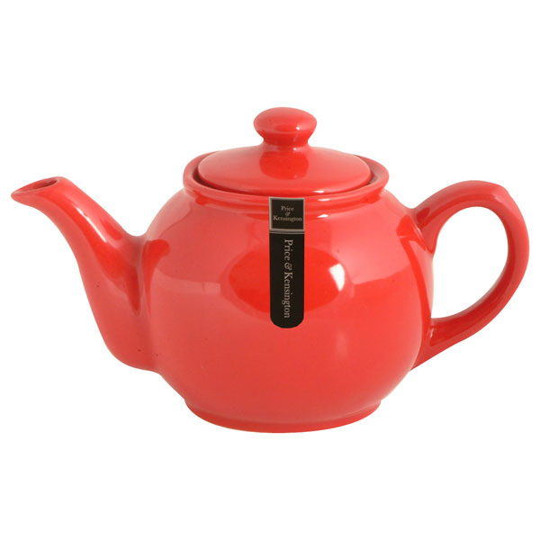 Brights Red Teapot  7 to 10 Cup