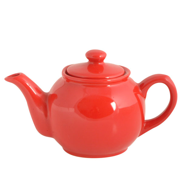 Brights Red Teapot  2 Cup