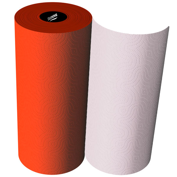 Renova Red Label Kitchen Roll  Red