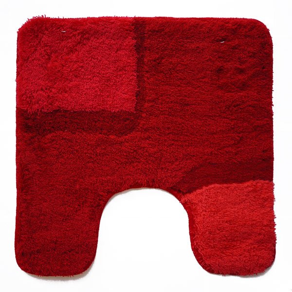 Bond Red Toilet Mat