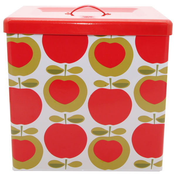 Typhoon Apple Heart Bread Bin