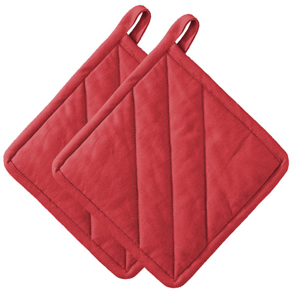 Image of Confetti Red Pot Holders