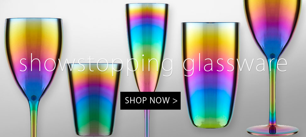 Showstopping Glassware