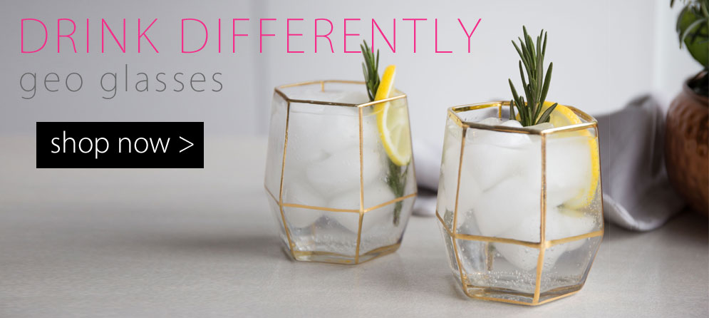 Drink Differently - Geo Glasses