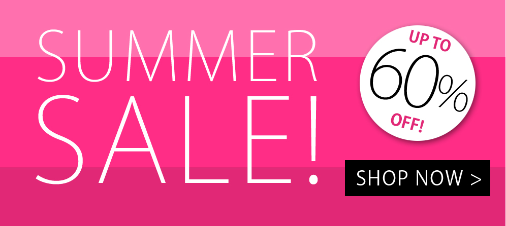 Summer Sale - Up To 60% Off!