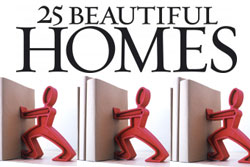 Red Candy Press Feature - 25 Beautiful Homes