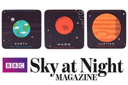 Red Candy Press Feature - BBC Sky at Night